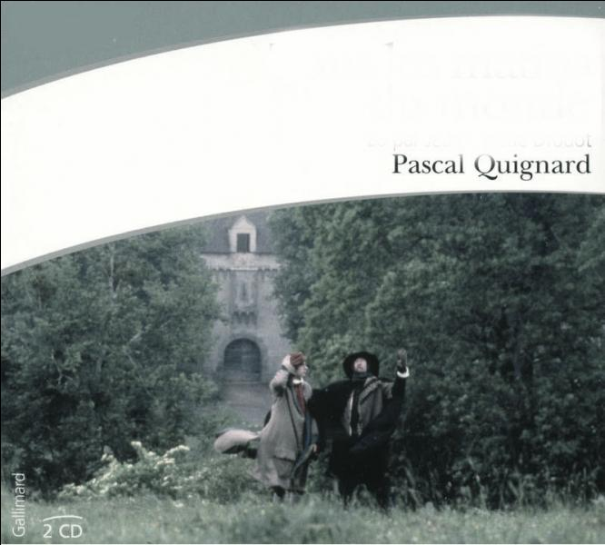 Quel est le livre écrit par Pascal Guignard ?