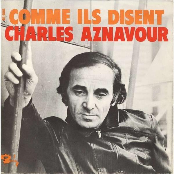 """Dans la chanson d'Aznavour, vers quelle heure va-t-on manger entre copains de tous les sexes, dans un quelconque bar-tabac, et sans complexes"""" ?"""