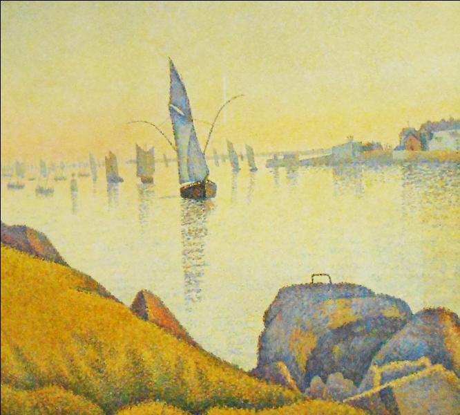 """Qui a peint """"Concarneau, calme du soir"""" ?"""