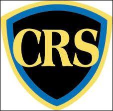 """Que signifie le """"R"""" dans le sigle CRS ?"""