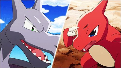 Ces deux Pokémon sont :