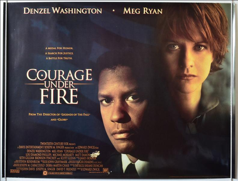 an analysis of the movie courage under fire In the movie, courage under fire,  those same long term memories are whats depicted in the film courage under fire an in-depth analysis.