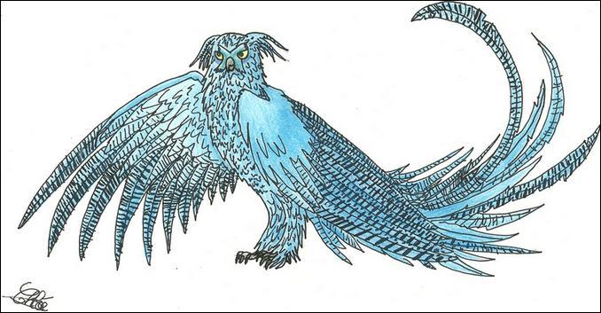 Comment se nomme la chouette dragon qui a comme but, d'éliminer les vanités ?
