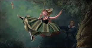 Si tu regardes cette image 3 secondes, Anna était-elle sur la balançoire ?
