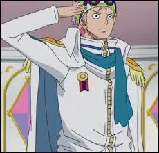 """Dans """"One Piece"""", quel est le rang de Kobby après l'ellipse ?"""
