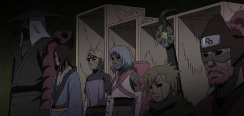 """Dans """"Naruto"""", quel personnage n'est pas ressuscité par Kabuto lors de la Quatrième Grande Guerre ?"""