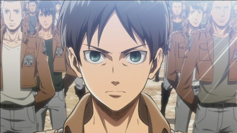 """Dans """"Shingeki no Kyojin"""" (L'Attaque des Titans), quand Eren s'est-il entraîné au sein de la 104e Brigade d'entraînement ?"""