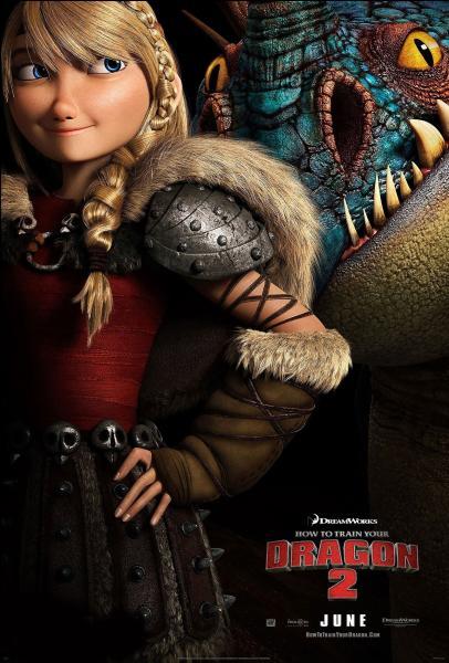 Comment s'appelle la petite amie d'Harold, qui a un dragon vipère qui se nomme Tempête ?