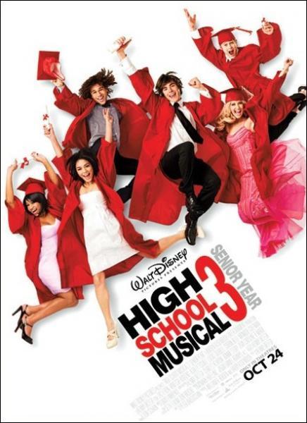 Sur quel film de la saga High School Musical, êtes-vous interroger ?