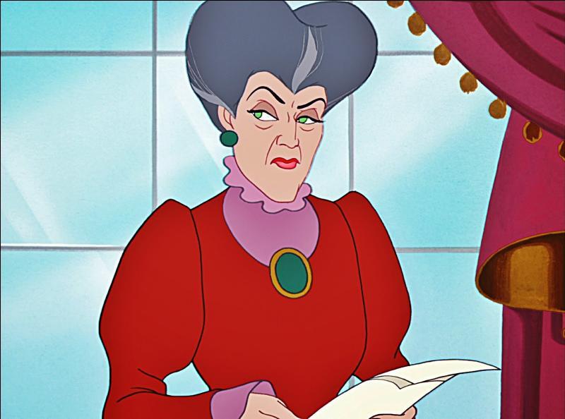 Quel est le prénom de Mme Trémaine, la belle-mère de Cendrillon ?