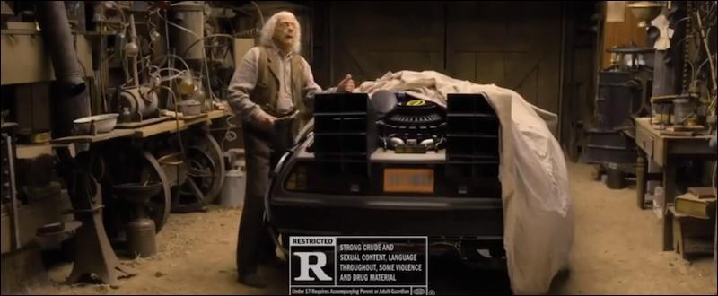 En 2014, dans quel film a-t-il fait un caméo dans le rôle du Docteur Emmett Brown ?