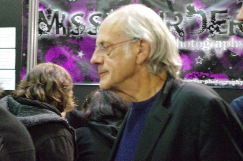 En février 2016, à quelle exposition les fans français ont-ils pu rencontrer Christopher Lloyd ?