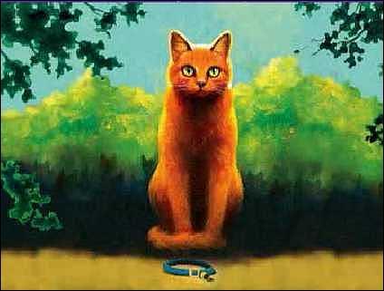 Comment s'appelle ce chat au tout début de l'histoire ?