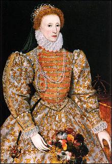 Sur quel pays Élisabeth Ire a-t-elle régné ?