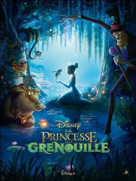 """Dans """"La princesse et la grenouille"""", qui Tiana embrasse-t-elle ?"""