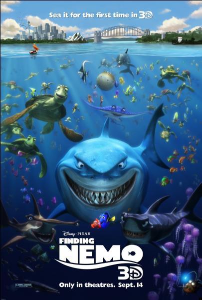 """Comment s'appelle l'étoile de mer dans """"Le monde de Nemo"""" ?"""