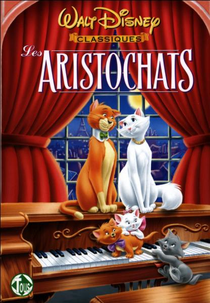 """Comment s'appelle la souris dans """"Les Aristochats"""" ?"""