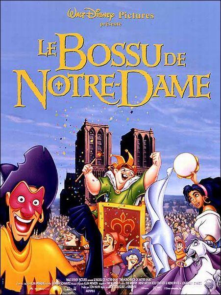"""Dans """"Le bossu de Notre-Dame"""", comment s'appelle le méchant ?"""