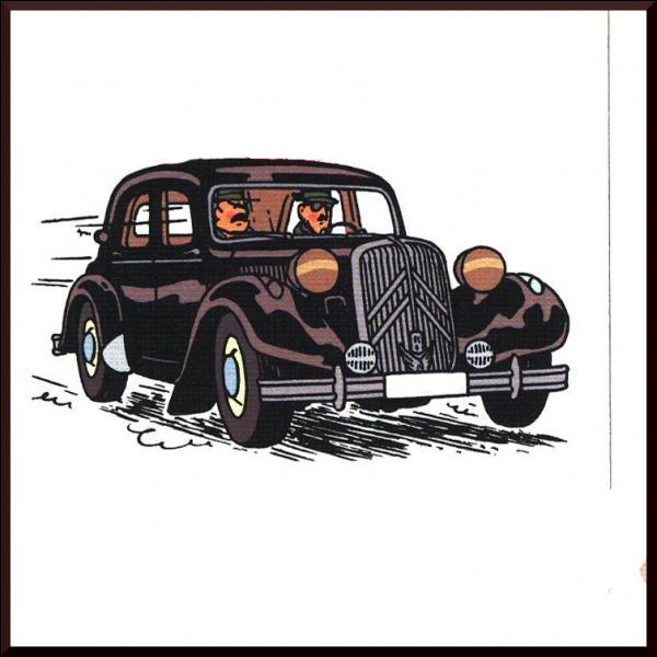 Dans quel album de dangereux espions roulent-ils avec cette Citroën 15 ?