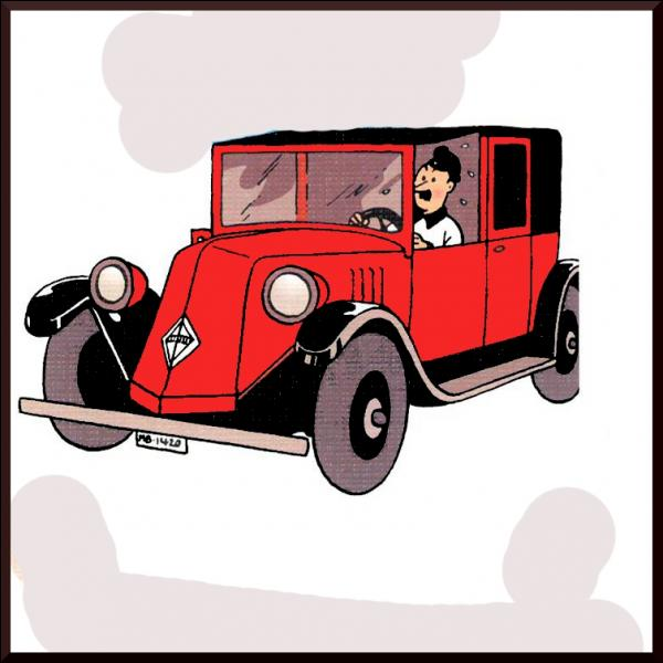 C'est à Bagghar que Tintin va prendre ce taxi, mais dans quel album sommes-nous ?