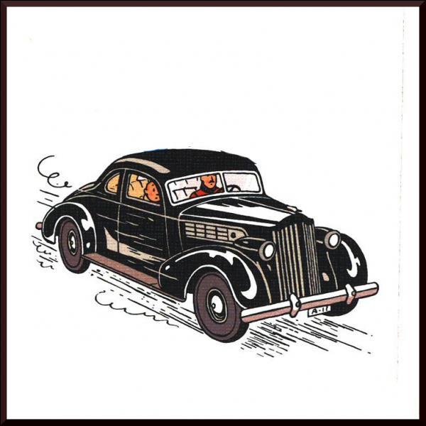 C'est en Syldavie que roule cette voiture, mais vous souvenez-vous dans quel album ?