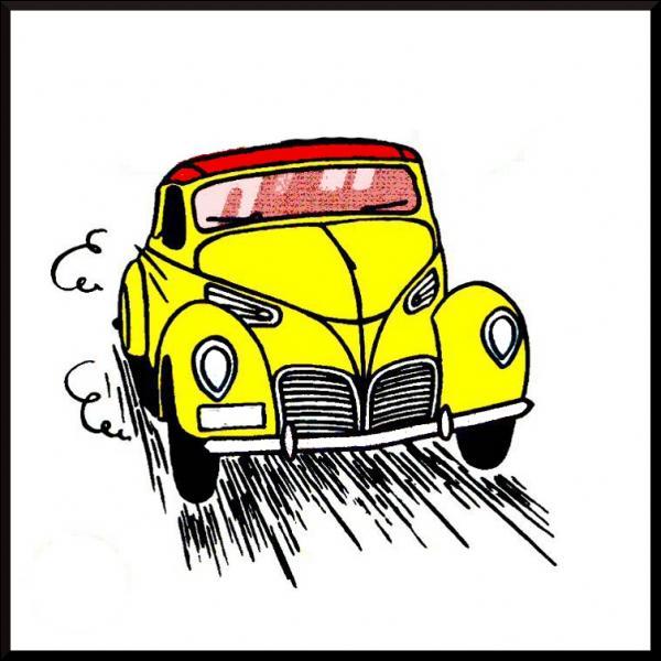 C'est bien la voiture du capitaine Haddock, mais dans quel album la découvre-t-on ?