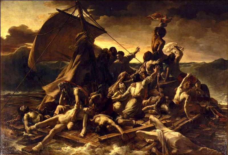Huile sur une toile très célèbre, peinte au XIXe siècle, 'Le Radeau de La Méduse' est inspiré d'un fait réel. Qui en est l'auteur ?