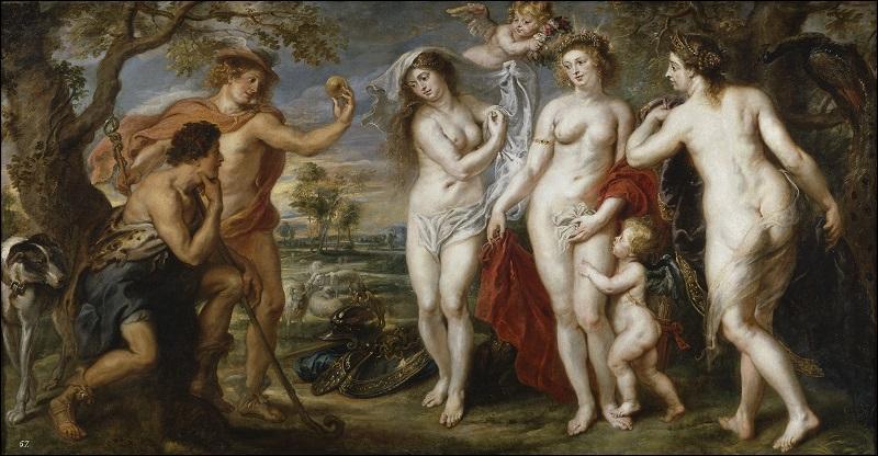 Aphrodite, Héra ou Athéna ? Pâris doit choisir ! Qui a dépeint ce choix cornélien ?