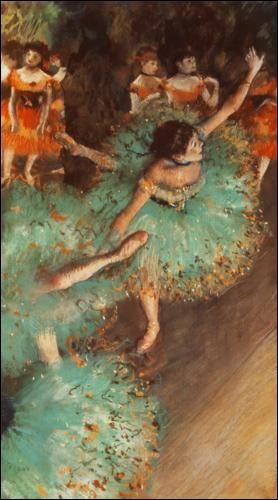 Tutus et ballerines. Qui a représenté ces danseuses ?