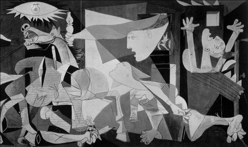 Encore un tableau extrêmement célèbre : 'Guernica'. Qui en est l'auteur ?