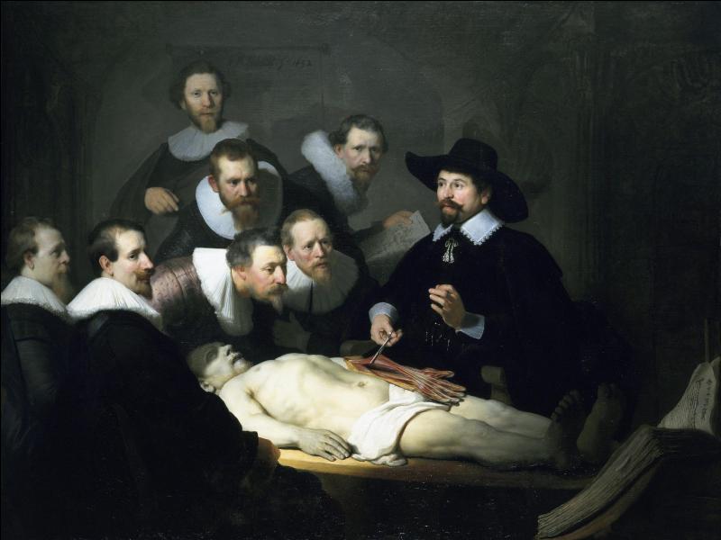 'La Leçon d'anatomie' a été peinte par :