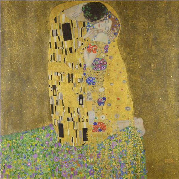 Par qui a été peint ce très joli baiser ?