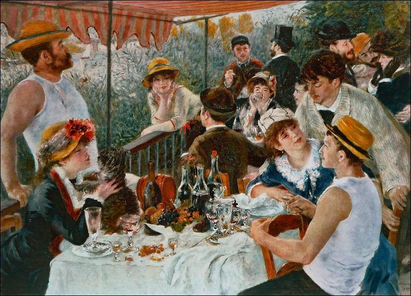 'Le Déjeuner des canotiers' est une œuvre de...