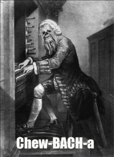Bach est le nom donné à un cratère d'impact sur la planète Mercure, en hommage à notre petit Johann Sebastien Bach. Et devinez dans quel région il se situe !