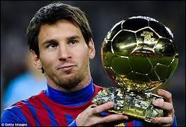 En quelle année a-t-il eu son premier ballon d'or ?