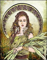 Je suis la déesse de l'agriculture et des moissons, qui suis-je ?