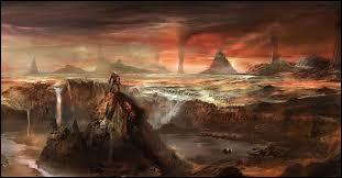 Où les prédécesseurs des dieux ont été jetés lorsqu'ils perdirent la guerre contre ces derniers ?