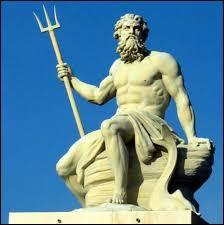 Je suis le maître des mers et des océans, frère d'Hadès et on m'attribue souvent un trident comme arme, qui suis-je ?