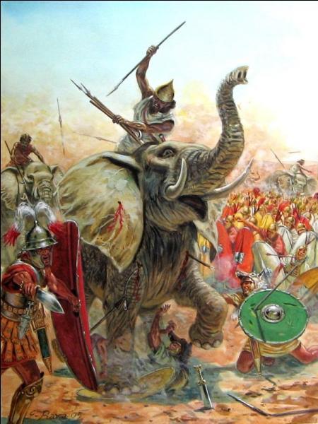Quelle fut sa première victoire contre les Romains, après la descente des Alpes ?