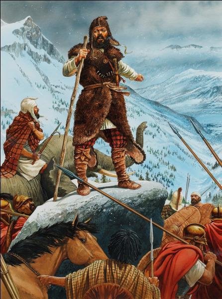 Il a franchi une chaîne de montagnes avec son armée en 15 jours : quelle est-elle ?