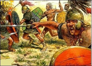 Il affronta une tribu celte, de véritables fous furieux extrêmement violents qui vivaient sur les rives de la rivière Isère : qui sont-ils ?