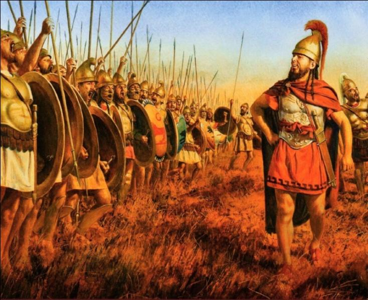 Plusieurs batailles vont lui être nécessaires pour réussir à écraser les hommes de l'armée romaine : combien de légionnaires vont périr ?