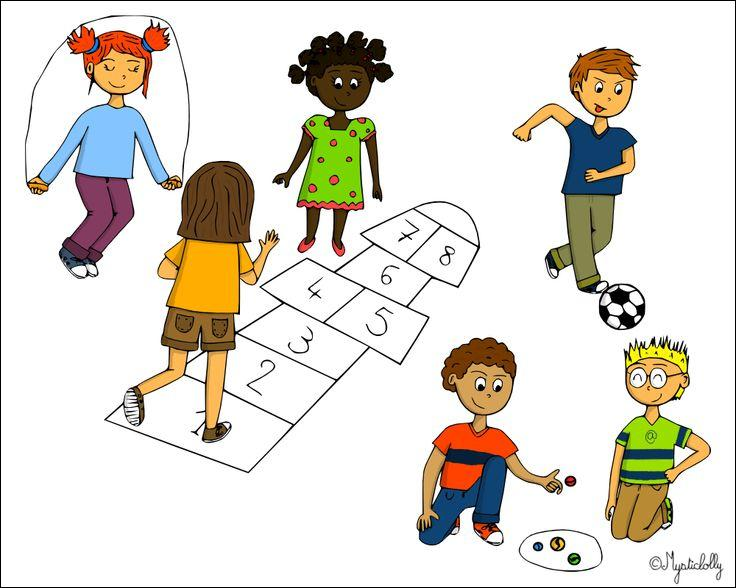 Quelques élèves jouent aux billes, _____ jouent à la marelle.