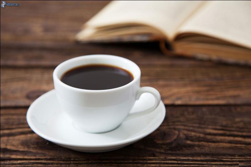 Les maîtres et les maîtresses _____ la cour en buvant une tasse de café.