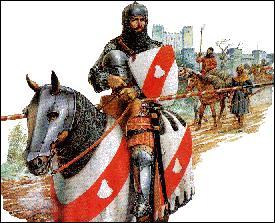 Il révise surtout le Moyen Âge. Tous ces châteaux forts et ces chevaliers, ça le _____ !