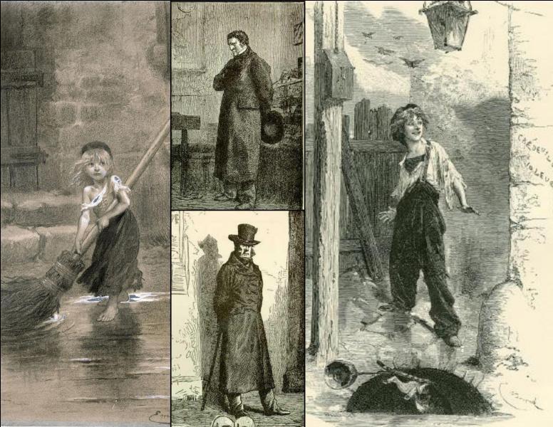 Cosette, Gavroche, Javert et Jean Valjean sont les personnages d'un roman de :