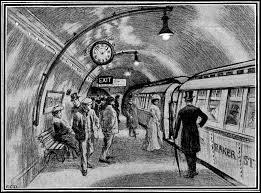 C'est la ville (d') de … qui s'équipa la première d'un métro. (Complétez)