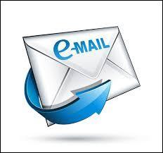 Au lieu du terme « email » on emploie aussi « e-envoi» en français.