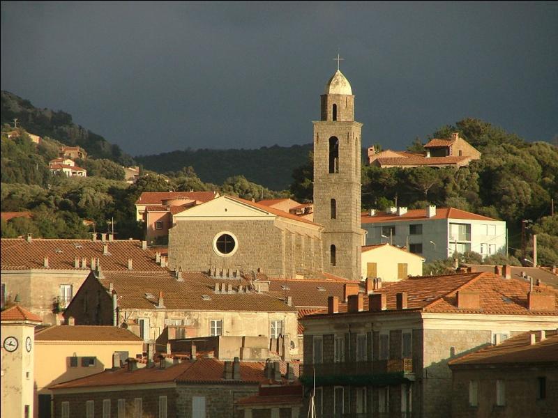 Quelle ville portuaire de la Corse-du-Sud doit son développement à la construction de la route reliant Ajaccio à Bonifacio au XIXe siècle ?