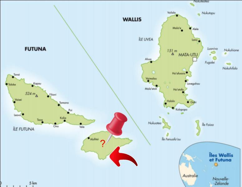 Wallis-et-Futuna est une collectivité d'outre-mer française située dans l'hémisphère sud. Son chef-lieu est Mata-Utu. Cette collectivité est composée de trois îles principales : Wallis, Futuna et … Quelle est cette troisième île ?